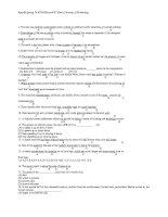 TOEIC 870 questions   tiếng anh 12   vũ văn ninh