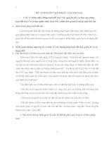ĐỀ CƯƠNG ÔN TẬP PHÁP LUẬT ĐẤT ĐAI