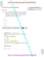 83 thi online   b0112 (p3)   con lắc đơn tích điện dao động trong điện trường (1)