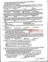 đề thi vật lý khối THCS 22