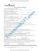 304 bài tập chọn lọc phi kim có lời giải chi tiết tuyensinh247