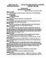 đề thi vật lý khối THCS 43