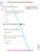 79 thi online   b0112 (p1)   chuyển động của con lắc đơn trong trường trọng lực (1)