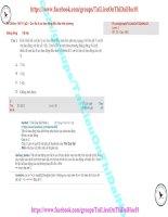 74 thi online   b0109 (p2) – con lắc lò xo dao động điều hòa trên phương thẳng đứng (1)