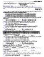 đề thi vật lý khối THCS 83