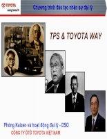 A1  toyota way  TPS (phong)