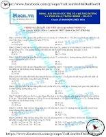 2017 PROS thi online b0106 BaiToanCucTriCuaQuangDuongVaThoiGianTrongDDDH p2 (1)