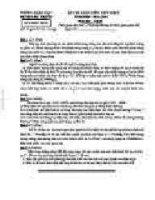 đề thi vật lý khối THCS 71