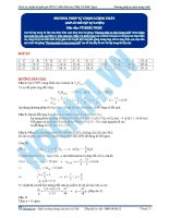 Bai 01 dap an bai tap phuong phap tu chon luong chat KG pdf