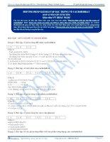 TB bai 18  dap an phuong phap giai bai tap dac trung ve cacbohidrat