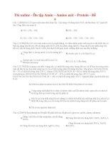 24 thi online   ôn tập amin – amino axit – protein   đề 4