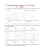 06 thi online   lý thuyết trọng tâm và bài tập về nhóm oxi – phần 1