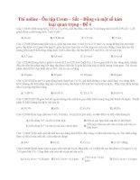 19 thi online   ôn tập crom – sắt – đồng và một số kim loại quan trọng   đề 4