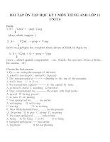 Bài tập môn tiếng anh lớp 11 (63)
