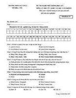 Đề thi tin học lớp 8 4