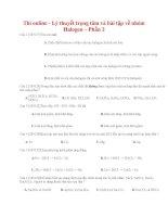 03 thi online   lý thuyết trọng tâm và bài tập về nhóm halogen – phần 2