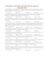 15 thi online  cơ bản  bài toán CO2 (SO2) tác dụng với dung dịch kiềm