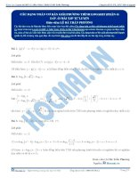 10 HDGBTTL cac dang co ban giai pt logarit phan 4 hocmai vn