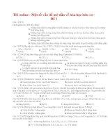02 thi online   một số vấn đề mở đầu về hóa học hữu cơ   đề 1