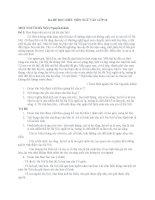 Ba đề đọc hiểu môn ngữ văn lớp 12