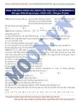 04 moon040 phuongphapxacdinhcautaocacbohidrat(baitaptuluyen NC de)