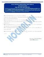 Bai 10 BTTL phuong tinh duong tron phan 2
