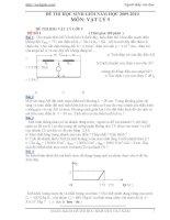 50 đề thi HSG vật lý 9 có đáp án