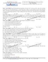 Đề thi thử THPT Quốc gia môn Sinh học trường Nguyễn trung thiêm   hà tĩnh   lần 2
