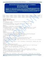 KG bai 18  dap an phuong phap giai bai tap dac trung ve cacbohidrat