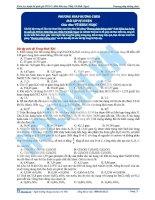 Bai 6  bai tap phuong phap duong cheo k g pdf