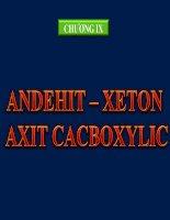 Bai 45 axit cacboxylic