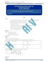 Bai 22  dap an ve amin va amino axit