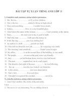 Bài tập môn tiếng anh lớp 11 (42)