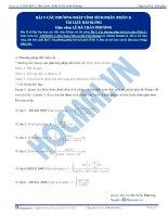 Bai 7 TLBG cac pp tinh tich phan phan 1