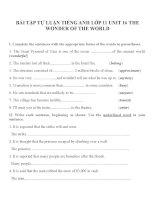 Bài tập môn tiếng anh lớp 11 (10)