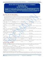 KG bai 18  bai tap phuong phap giai bai tap dac trung ve cacbohidrat v1