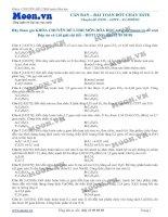 LTDH   thi online   can ban   bai toan dot chay este