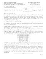 Đề thi duyên hải đồng bằng bắc bộ môn toán lớp 11 năm 2016   đề đề xuất trường THPT chuyên lào cai