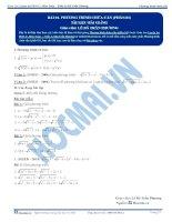 Bai 1 TLBG phuong trinh phan 1