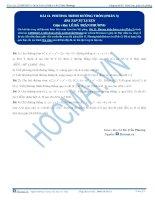 Bai 11 BTTL phuong tinh duong tron phan 3