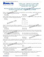 LTDH thi online nangcao chisocuachatbeo,xaphonghoachatbeo de2