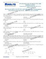 11 LTDH thionline PP giai bai tap ve phan ung the hidrocacbon