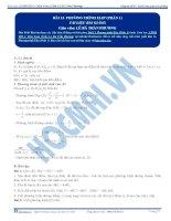 Bai 13 TLBG phuong tinh elip phan 1