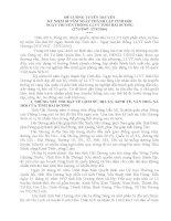 Đề cương truyền thống 69 năm LLVT tỉnh