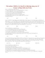 49 thi online YD024  lý thuyết và bài tập nâng cao về crom và hợp chất của crom