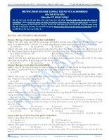 TB bai 18  bai tap phuong phap giai bai tap dac trung ve cacbohidrat v1