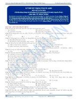 Bai 19  bai tap ly thuyet trong tam ve amin KG v1