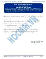 Bai 13 BTTL phuong tinh elip phan 1