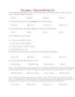 44 thi online   tổng ôn phi kim p3