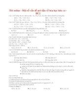 03 thi online   một số vấn đề mở đầu về hóa học hữu cơ   đề 2